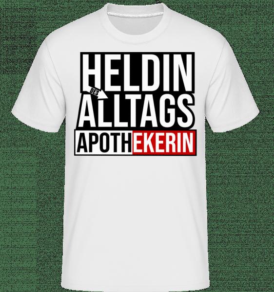 Heldin Des Alltags Apothekerin - Shirtinator Männer T-Shirt - Weiß - Vorn