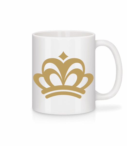 Crown Sign - Mug - White - Front