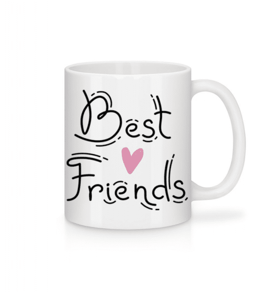 Best Friends - Mug - White - Front