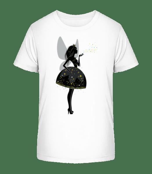 Princesses Fairy - Kid's Premium Bio T-Shirt - White - Vorn