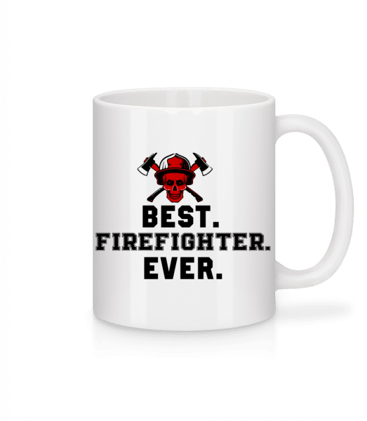Best Firefighter Ever - Mug - White - Vorn