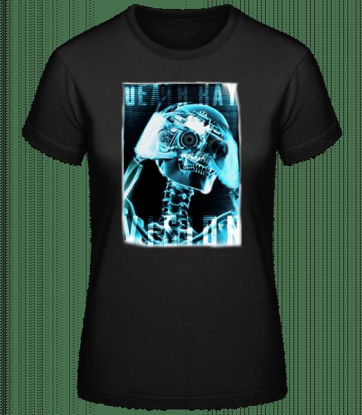 Squelette Radio - Basic T-Shirt - Black - Vorn