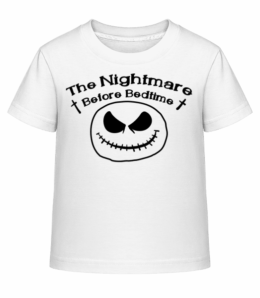 Nightmare Before Bedtime - Kid's Shirtinator T-Shirt - White - Vorn