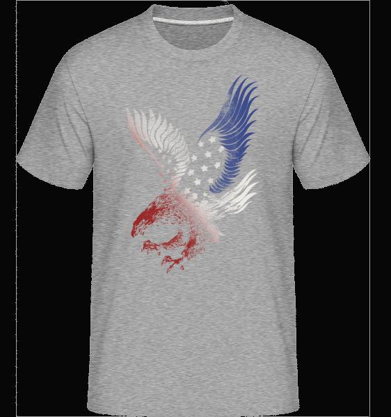 American Eagle -  Shirtinator Men's T-Shirt - Heather grey - Vorn