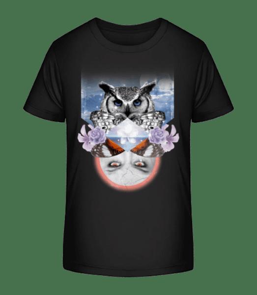 Hipster Ocean - Kid's Premium Bio T-Shirt - Black - Vorn