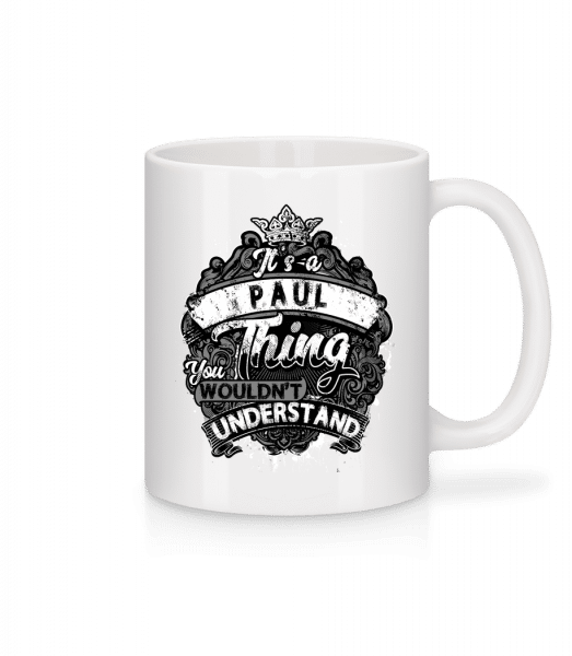It's A Paul Thing - Mug - White - Front