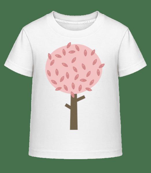 Autumn Tree - Kid's Shirtinator T-Shirt - White - Vorn