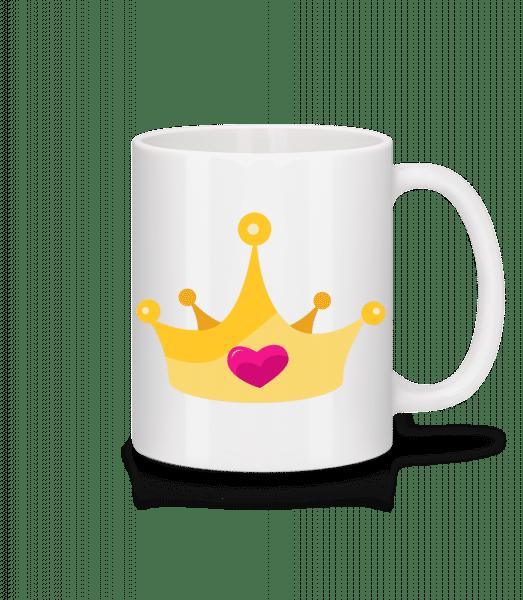 Princess Crown Yellow - Mug - White - Vorn