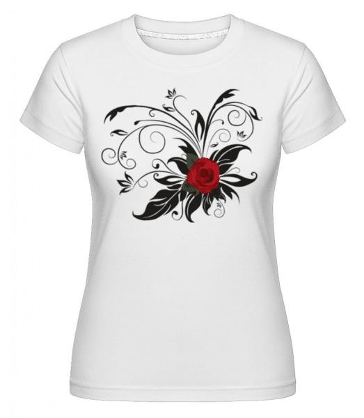 Red Roses -  Shirtinator Women's T-Shirt - White - Front
