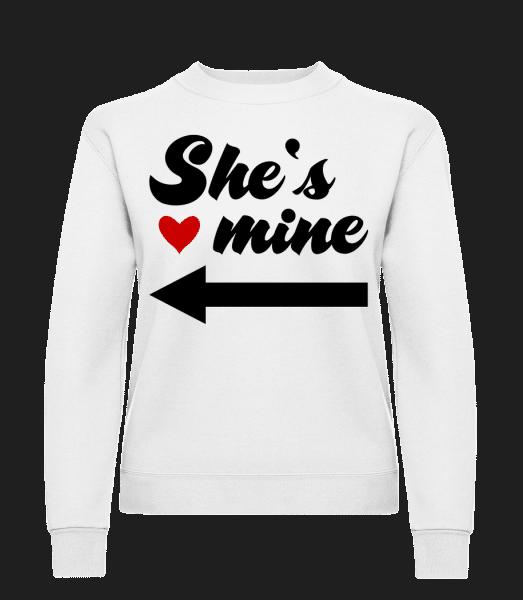 She Is Mine - Women's Sweatshirt - White - Vorn
