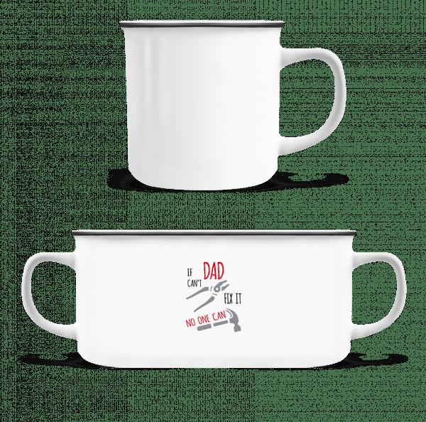 If Das Can't Fix It - Enamel-cup - White - Vorn