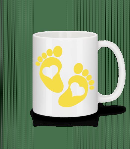 Baby Feet - Mug - White - Vorn