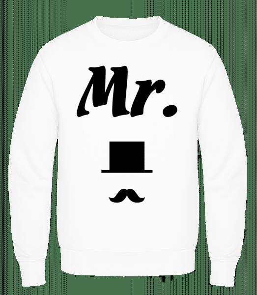 Mr. Wedding - Men's Sweatshirt AWDis - White - Vorn
