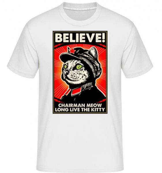 Chairman -  Shirtinator Men's T-Shirt - White - Front