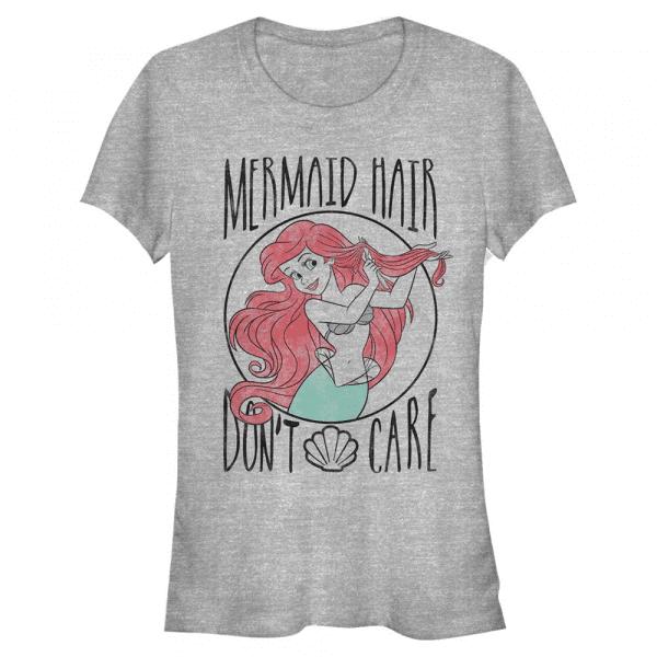 Mermaid Hair Ariel - Disney The Little Mermaid - Women's T-Shirt - Heather grey - Front