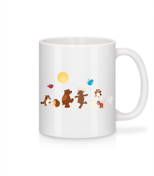 Baby Animal Party - Mug - White - Front