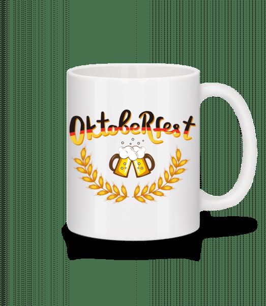 Deutschland Oktoberfest - Mug - White - Vorn