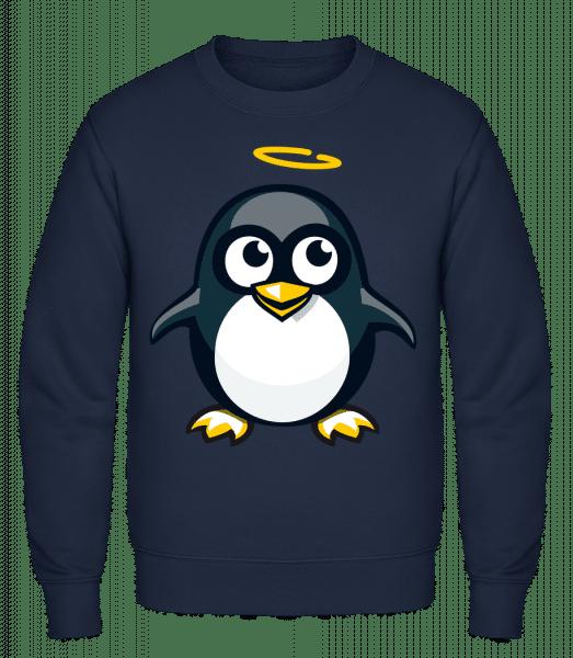 Angel Penguin - Classic Set-In Sweatshirt - Navy - Vorn