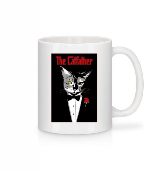 The Catfather - Mug - White - Front
