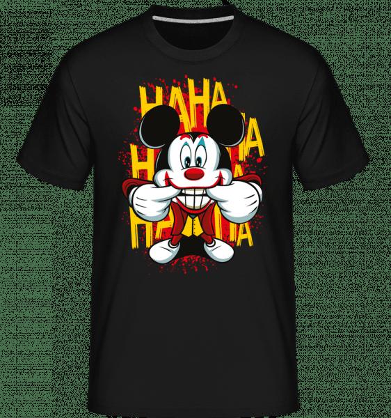 Funny Man -  Shirtinator tričko pro pány - Černá - Napřed