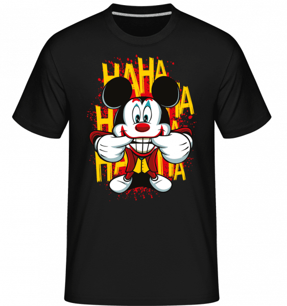 Funny Man -  Shirtinator Men's T-Shirt - Black - Front