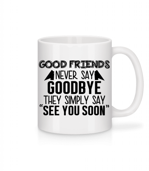 See You Soon - Mug - White - Vorn
