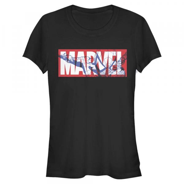 Spider Marvel - Spider-Man - Women's T-Shirt - Black - Front