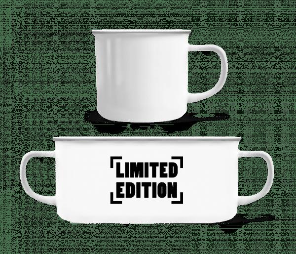 Limited Edition Logo - Enamel-cup - White - Vorn
