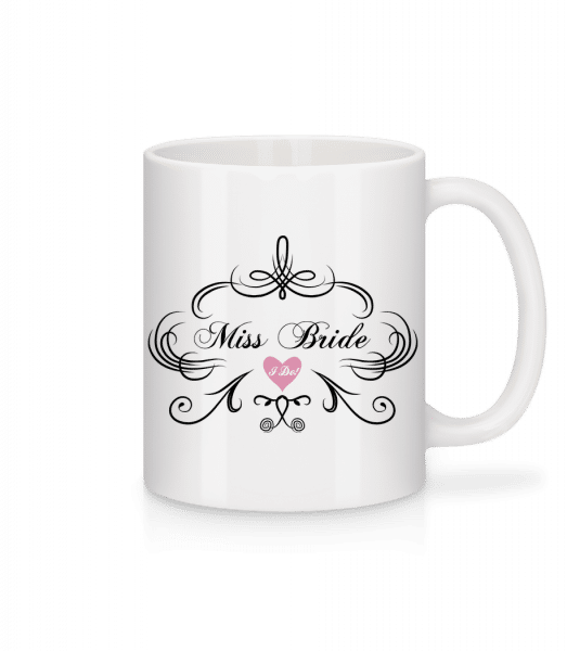 Miss Bride - Mug - White - Vorn