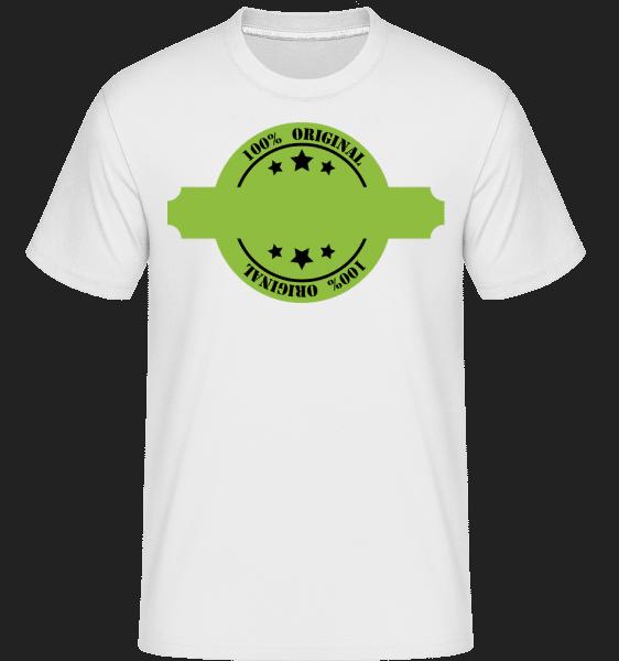 100 % Original -  Shirtinator Men's T-Shirt - White - Vorn
