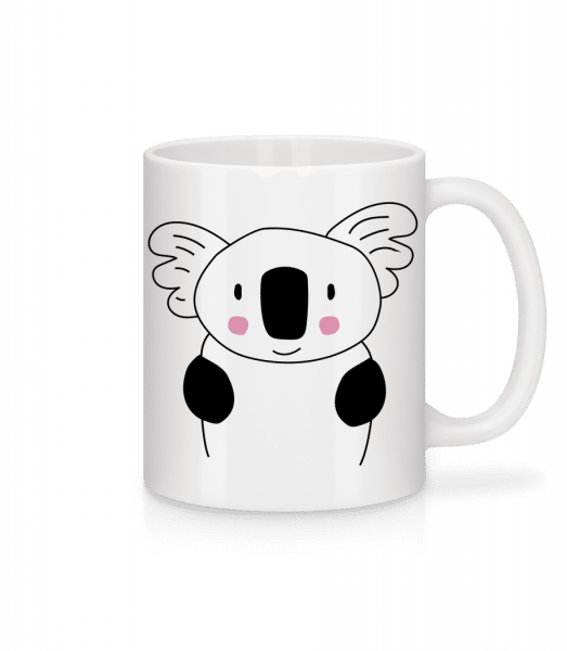 Cute Koala - Mug - White - Vorn