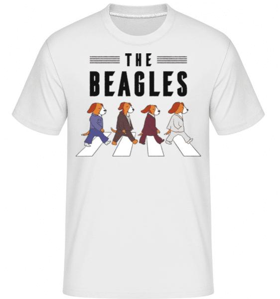 The Beagles -  Shirtinator Men's T-Shirt - White - Front