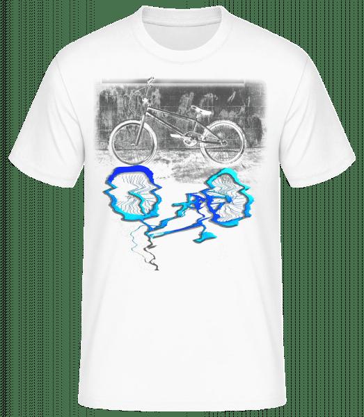Flaque De Vélo - Basic T-Shirt - Bílá - Predné