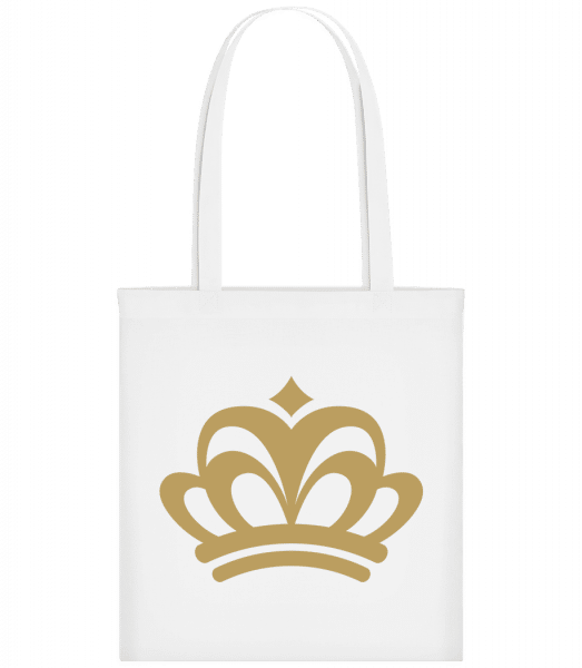 Crown Sign - Carrier Bag - White - Vorn