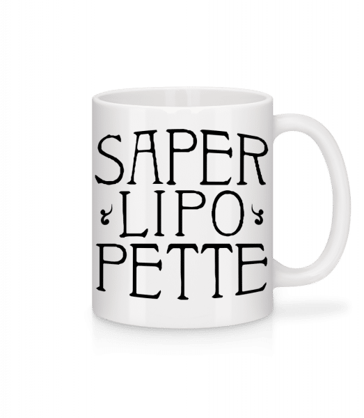 Saperlipopette - Mug - White - Vorn