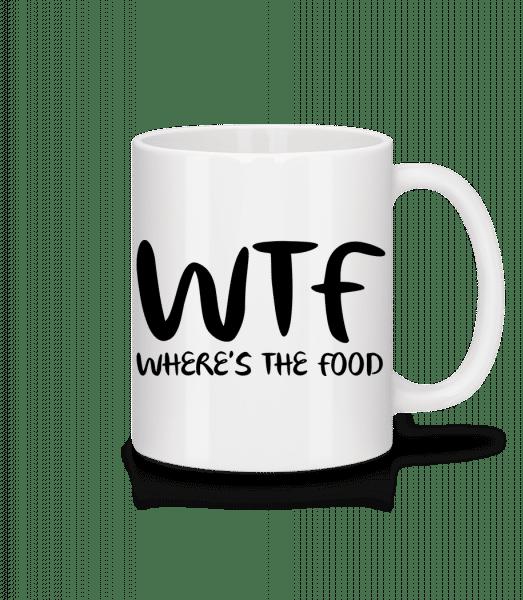 WTF Where's The Food - Mug - White - Vorn