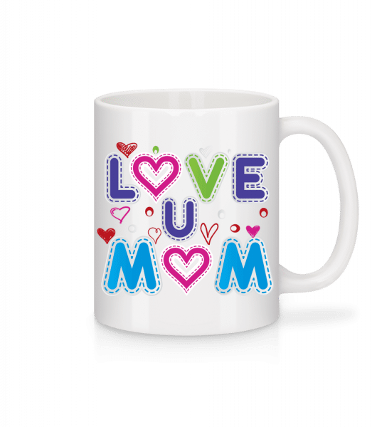 Mom Love - Mug - White - Front