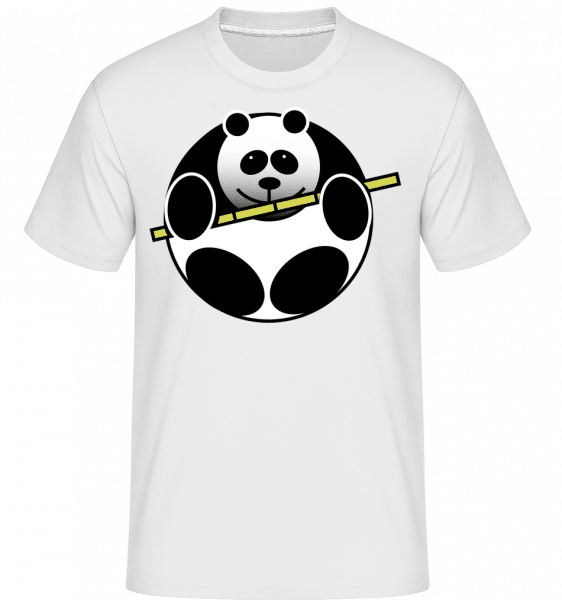 Panda Comic -  Shirtinator Men's T-Shirt - White - Vorn