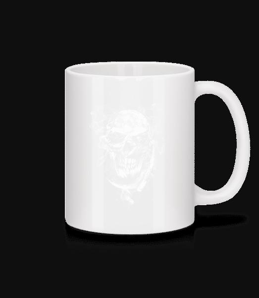 Skull - Mug - White - Vorn