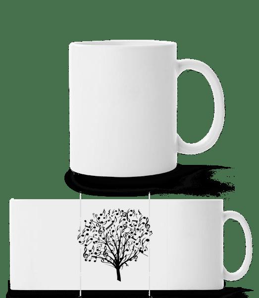 Music Tree - Panorama Mug - White - Vorn