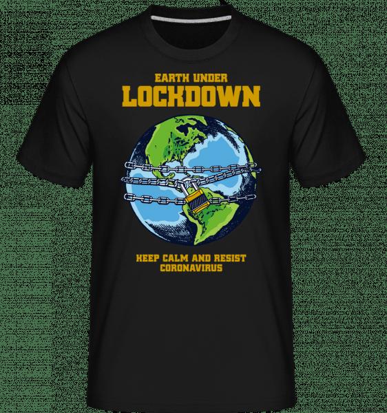 Lockdown -  Shirtinator Men's T-Shirt - Black - Vorn