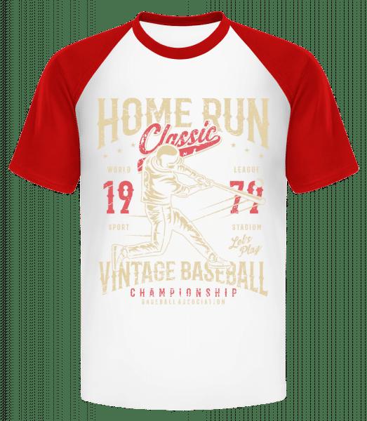 Home Run Classic - Men's Baseball T-Shirt - White - Vorn