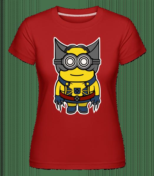 Minion Wolverin -  Shirtinator Women's T-Shirt - Red - Vorn