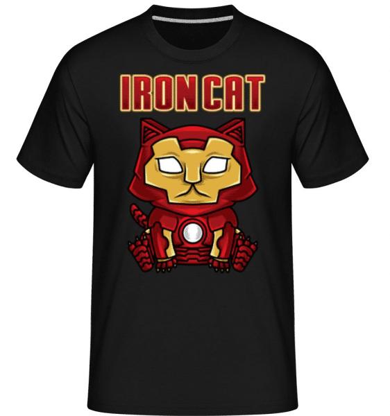 Iron Cat -  Shirtinator Men's T-Shirt - Black - Front