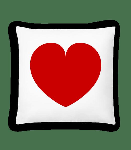 Heart - Cushion - White - Vorn