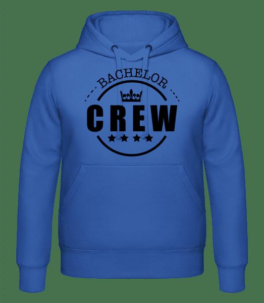 Bachelor Crew - Hoodie - Royal Blue - Vorn