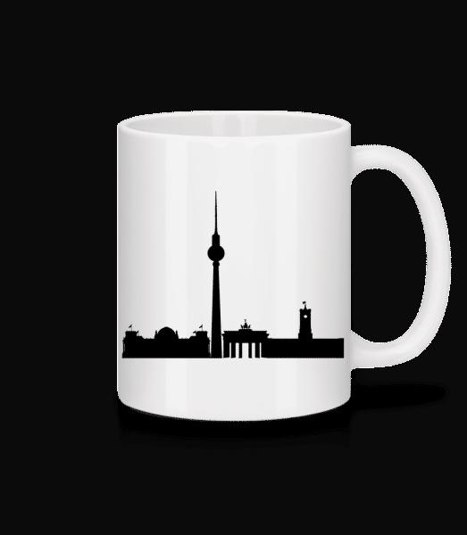 Berlin Germany - Mug - White - Front