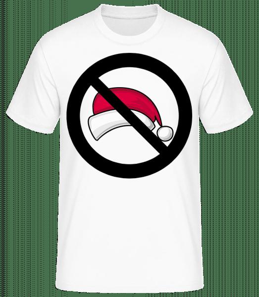 Christmas Forbidden - T-shirt standard Homme - Blanc - Vorn
