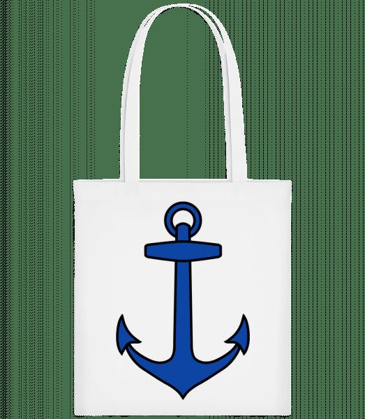 Anchor - Carrier Bag - White - Vorn