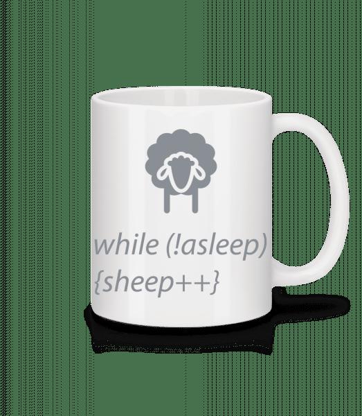 While Not Asleep - Mug - White - Vorn
